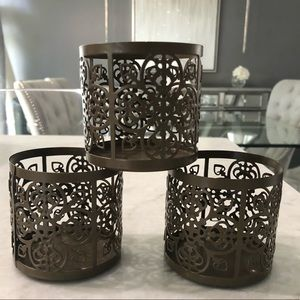 Set of 3 CandleHolders
